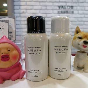 送日本進口能用身體和頭髮的MIEUFA祕法香抗UV防曬噴霧SPF50+ PA++++南洋木蘭香.高地鈴蘭 每人各一瓶.品項隨機