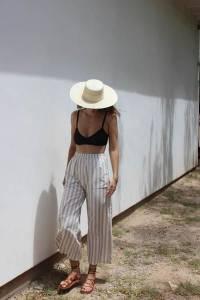明星超模都愛的夏季必備單品!Bra Top的5款造型穿搭術~#飄逸的「波希米亞風」根本女神氣勢
