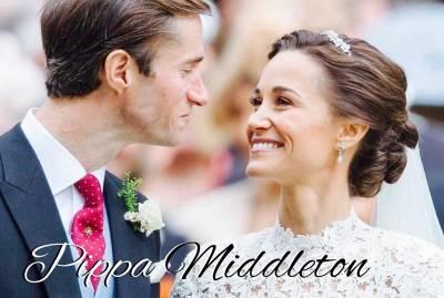 凱特王妃妹妹 Pippa Middleton 婚前做這些!讓她宛如女神降臨