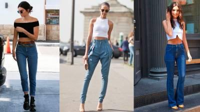 80年代復古風!女神也愛不釋手的「高腰牛仔褲」~ 教你「搭配4招」穿對立馬腰圍少一寸!