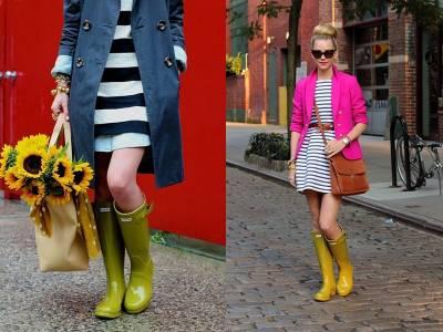 最百搭的不僅是黑色雨鞋?雨鞋的七種繽紛穿法