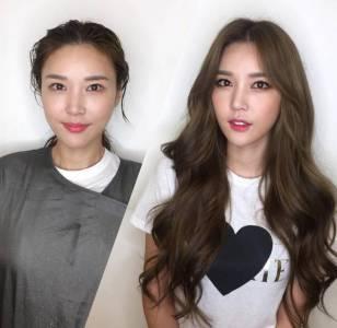 9張對比圖,告訴你髮型和妝容的重要性!