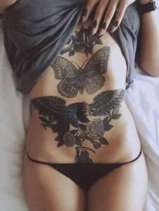 女生這些私密部位的紋身,性感得讓人窒息!