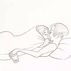 日本插畫美少女:戀愛中的這些小動作,最能撩撥人心