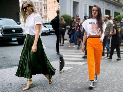 出門快來不及?學超模們時尚的「套上T恤」就出門吧!「怎麼穿都好看的」4招搭配術一次告訴你! 4 就是「懶人專用」穿搭啦~