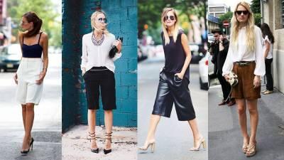 夏天穿短褲的五個細節,讓妳在辦公室也自在時尚