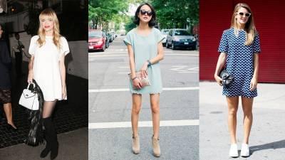 T恤裙夏季最顯瘦,三大身形問題穿上馬上有感瘦身