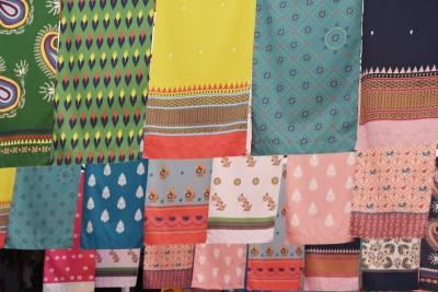 印度紗麗裝置藝術展