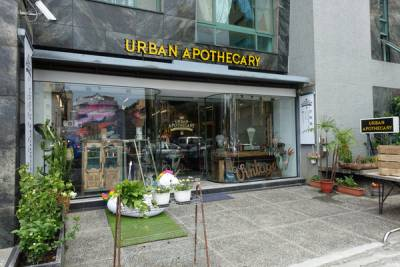 古俬選品Urban Apothecary,台電大樓站新奇復古生活雜貨 餐具,美國林文煙花露水 香氛蠟燭和紅銅杯