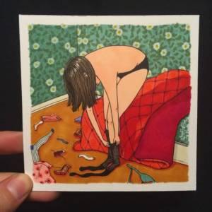 她曝光了99 女生都會做的羞羞事,畫面不可描述,卻戳中姊妹們的心!