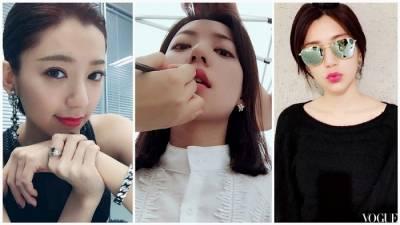 想把唇彩畫得跟她一樣美,郭雪芙御用化妝師傳授 多加這四個步驟試試!