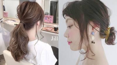 男生最愛的夏季好感度髮型!5招就把日本女生的層次感馬尾學起來