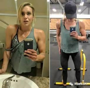 胸太大簡直太痛苦!這妹子在健身房苦耗7年,終於把自己練成了小小胸…