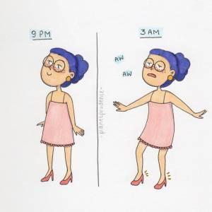 7張女生「光鮮亮麗的外表下」,背後都是這些「不敢說的毀形象秘密」。 6穿「緊身小褲褲」的時候一定會...