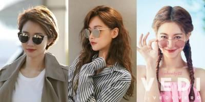 六大火紅韓星愛牌墨鏡,孔曉振 劉寅娜與秀智的墨鏡時尚戰,靠它帥氣戴出女神氣場!