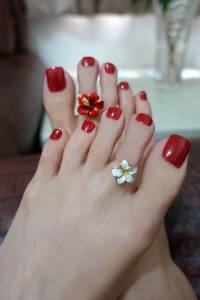 Floats 腳戒,夏日必備美腳飾品,來自日本東京可搭配美甲 腳鍊顯現足上性感風情的造型腳飾