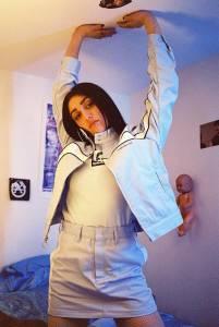 大膽又前衛的穿搭法!瑪丹娜女兒Lourdes跟上媽媽的時尚品味...青出於藍勝於藍!