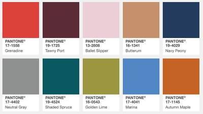 直接幫你統整好!PANTONE 2017下半年度色彩趨勢