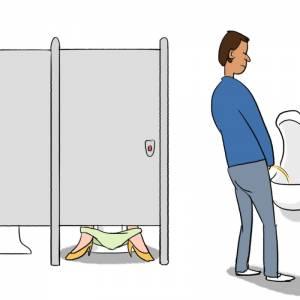5個「女生最容易產生快感」的超隱晦私密瞬間。 4 女生其實常衝進男廁做「這種事」
