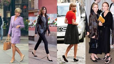舒適與時尚的結合,奧黛麗赫本也愛的 Kitten Heels 低跟鞋
