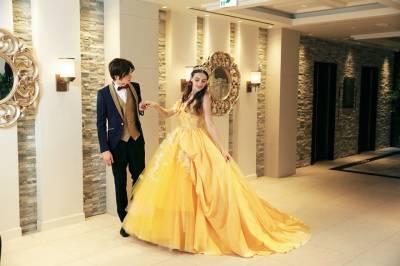 女孩夢幻婚禮就靠他!日本推出「迪士尼公主絕美婚紗」髮型也超還原,但是樂佩的頭髮好像哪裡不對⊙o⊙