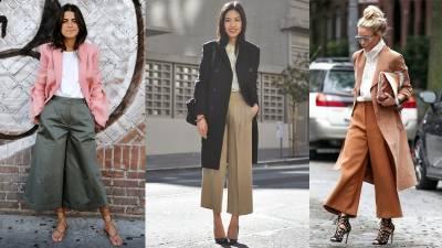 2017褲款關鍵字:「—卡其寬褲」 5招,一件寬褲穿出秋冬最時尚造型!