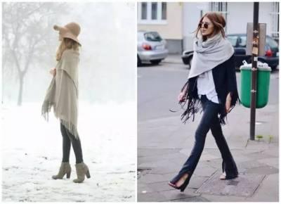 學會披肩的這十二種系法 讓你美翻這個冬天!