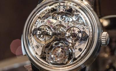 【SIHH2018】頂級感官饗宴!芝柏全新三問報時三軸陀飛輪腕錶