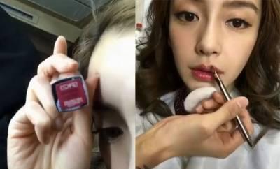 Angelababy公開化妝過程!5步驟,清新帶電貓眼 發亮底妝這樣畫~(內有完整影片教學)