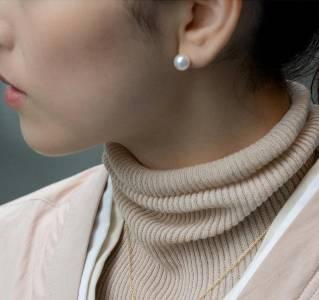 為什麼珍珠耳環戴起來會顯老氣除了大小的選擇之外,日本女孩原來都這樣配戴珍珠耳環...