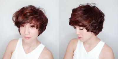 必收!好像換了個人,長→短百搭髮型變化(附:大改造→1位女生 2個捲度 4種長度)