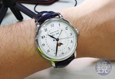 【鏡開箱】MONTBLANC「Star Legacy全曆腕錶」