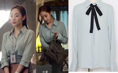 《金秘書為何那樣》朴敏英OL上班穿搭「襯衫x窄裙」4招穿出變化!淘寶類似款一次看
