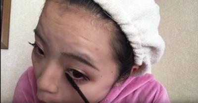 刷睫毛4技巧,眼睛放大3倍!睫毛夾要向下 睫毛膏要停留!