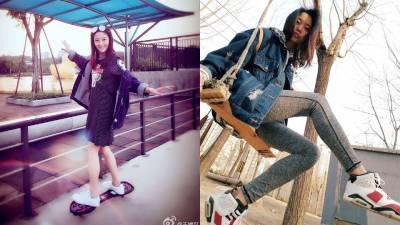 王媛可修長美腿被讚超模等級!日常堅持這幾招跟著純妃瘦下來!