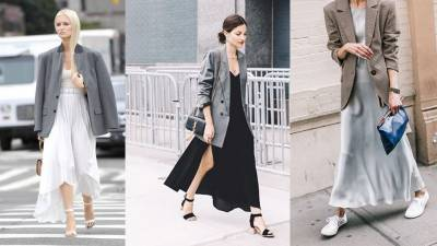 跟著街拍達人這樣穿!五種西裝外套的下身搭配讓妳一秒變網紅