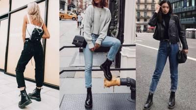 馬丁靴讓妳變「小短腿」!3個穿搭Tips讓妳避免變多啦A夢