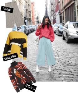 紐約人入秋也瘋甜美穿搭?「鬆軟系」毛衣上身!3種穿搭,讓妳個性浪漫一手包辦