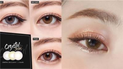 自然款棕色隱形眼鏡推薦!就像天生「裸眼」,素顏戴也不突兀
