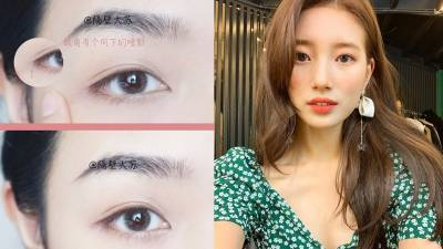 韓妞無辜大眼的3種眼尾角度!加碼推薦自然裸妝必備,不暈的「咖啡色眼線膠筆」