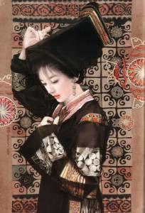 中國56個民族美女圖及介紹,各有特色的美女們,你覺得哪個最美呢