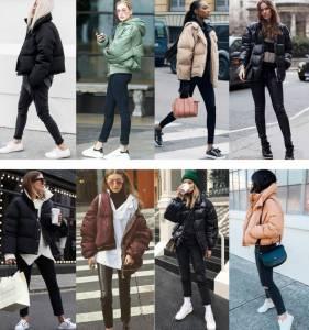 學習Gigi與蕾哈娜「時髦的羽絨外套」穿搭示範 這4種顯瘦方法,絕對受用!