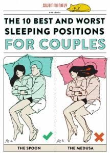 愛就是把手臂給妳當枕頭也不怕手麻!圖解情侶合適睡姿