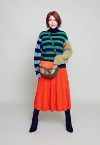 時尚女王小S教你穿出復古風!毛衣 寬褲的7款超強搭配法...
