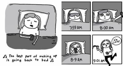 對人群過敏?無時無刻都想睡?「懶廢生活」5個症狀,你也是厭世女子嗎?
