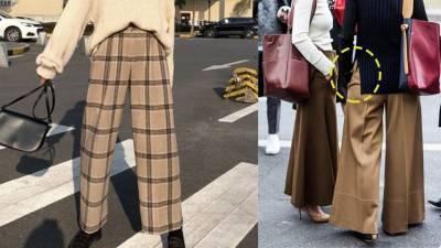 針織搭寬褲顯胖?必學4招小撇步,顯瘦又有型