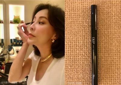影/「眼線向上拉長點,看起來更有精神!」,揭開52歲劉嘉玲不老的彩妝2心機...