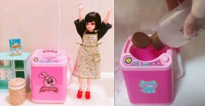 影/韓國大創「迷你洗衣機」幫粉刷 粉撲洗澎澎,加映「氣墊霜粉撲」洗淨6個STEPS