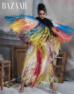 蕾哈娜大膽展現女王風範 稱霸流行音樂界 美妝界