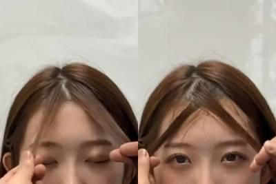 瀏海分線 開花怎麼解?特搜韓國髮型師技巧,轉一轉 吹一下,瀏海蓬鬆整天